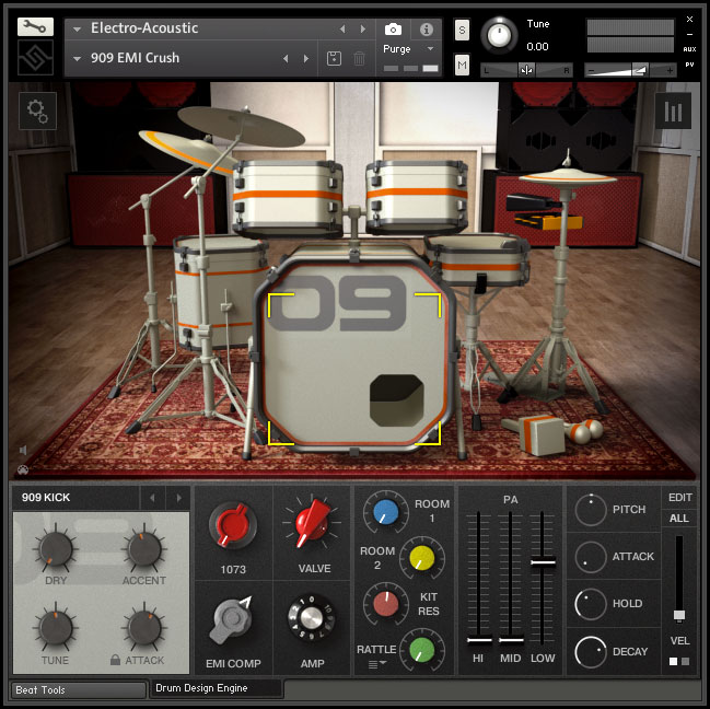 kvr electro acoustic by soniccouture drums vst plugin audio units plugin and aax plugin. Black Bedroom Furniture Sets. Home Design Ideas