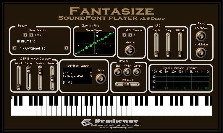 Fantasize SoundFont Player
