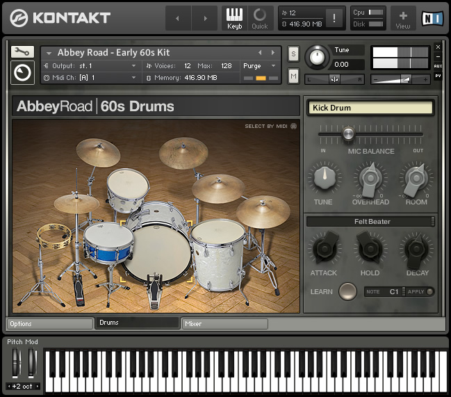 Kvr Abbey Road 60s Drummer By Native Instruments Drum