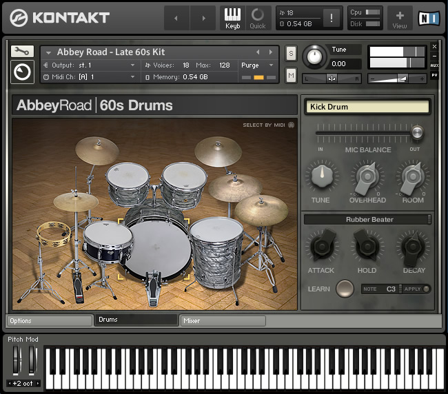 KVR: Abbey Road 60s Drummer by Native Instruments - Drum