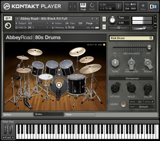 KVR: Abbey Road 80s Drummer by Native Instruments - Drum Kits VST