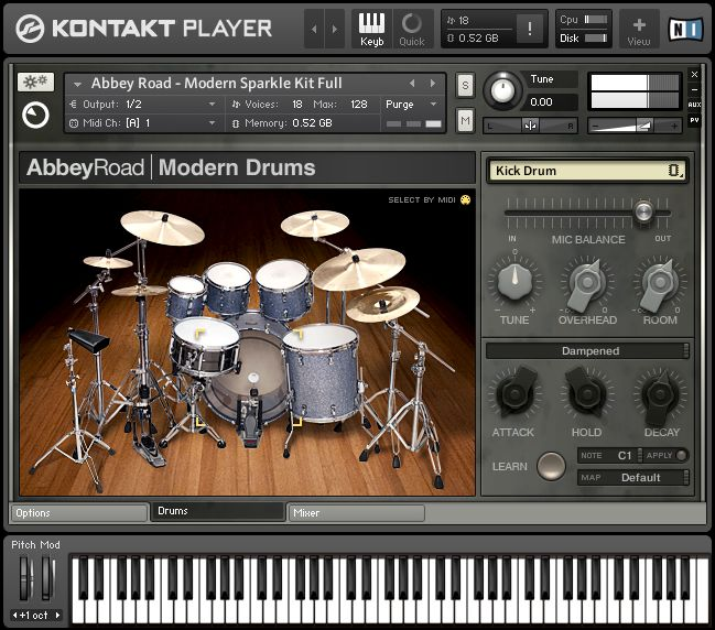 native instruments studio drummer library