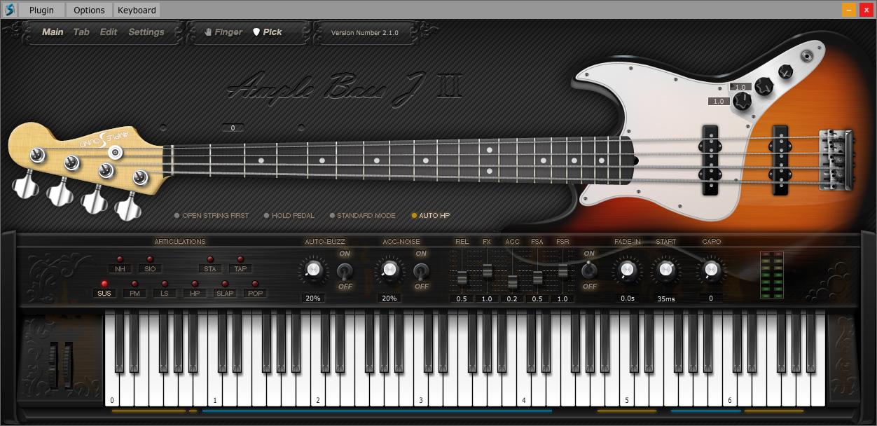 kvr abj ii by ample sound fender jazz vst plugin audio units plugin rtas plugin and aax. Black Bedroom Furniture Sets. Home Design Ideas