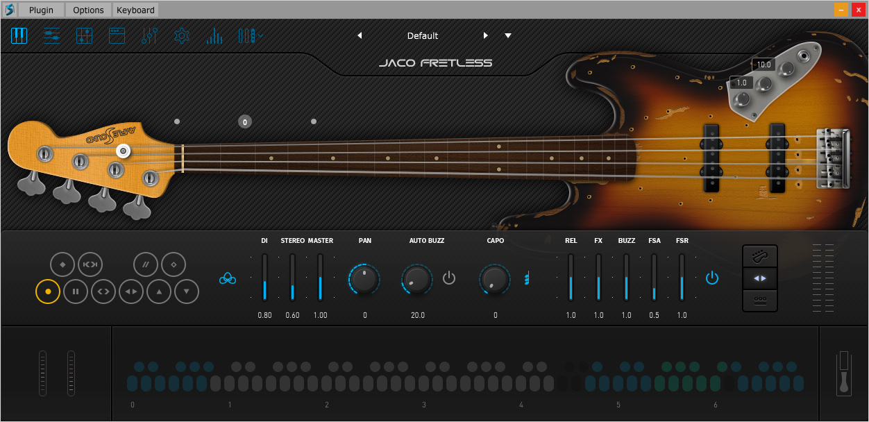 KVR: Ample Sound releases Jaco Fretless Bass