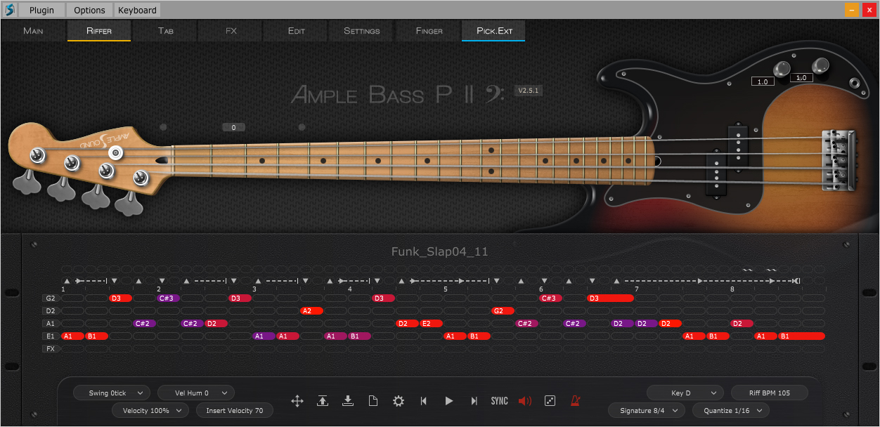 kvr abp ii by ample sound electric bass vst plugin audio units plugin rtas plugin and aax. Black Bedroom Furniture Sets. Home Design Ideas
