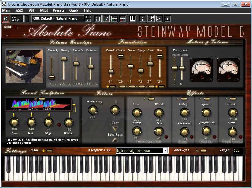 Absolute Piano Virtual Steinway B