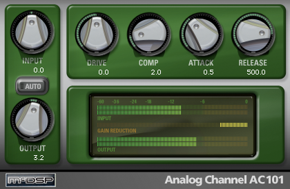 KVR: Analog Channel by McDSP - Analog Tape Emulator VST Plugin