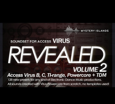 Access Virus Revealed Volume 2 - preset bank