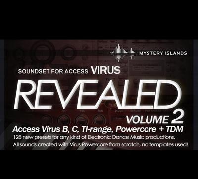 Access Virus Revealed Volume 2 - preset bank