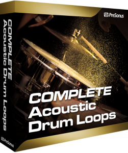 Acoustic Drum Loops Complete