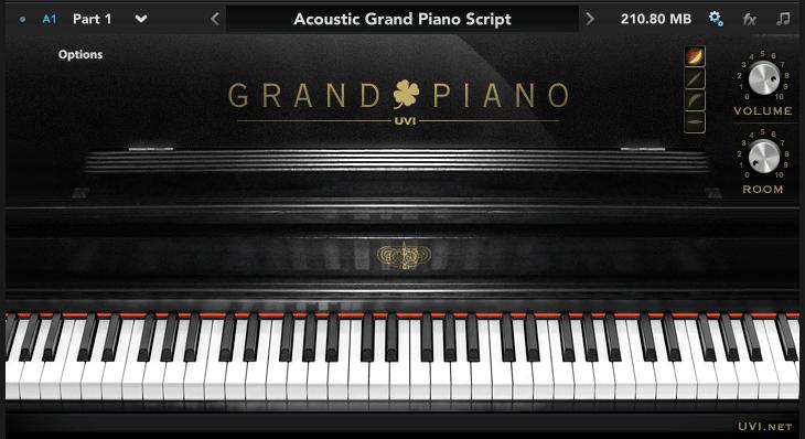 KVR: Acoustic Grand Piano by UVI - Grand Piano VST Plugin