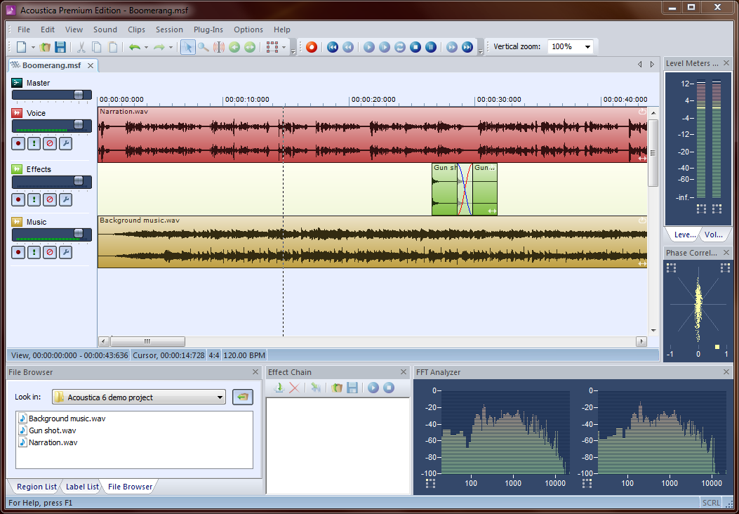 KVR: Acoustica by Acon Digital - Audio Editor for Windows