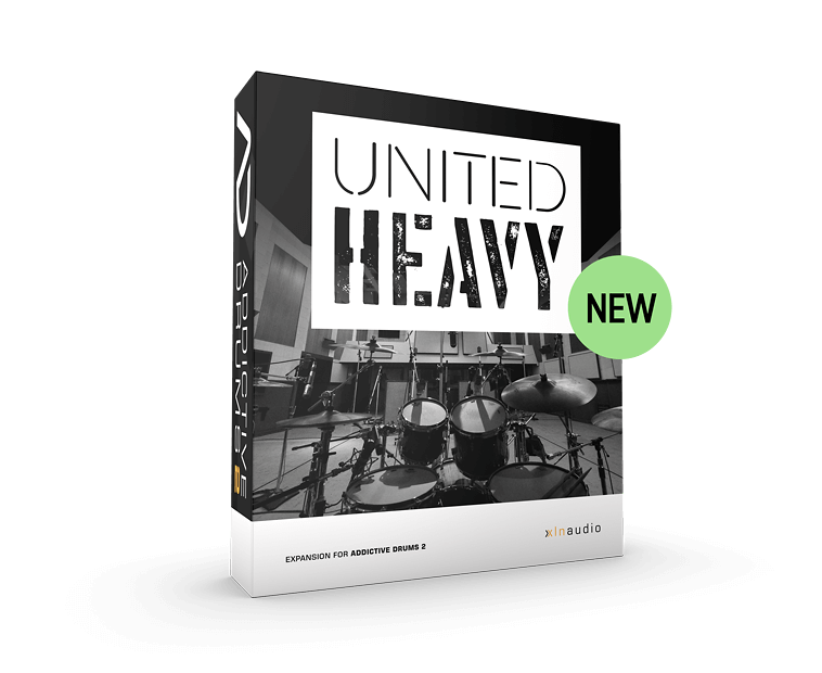 KVR: United Heavy ADpak by XLN Audio - Drum Expansion VST