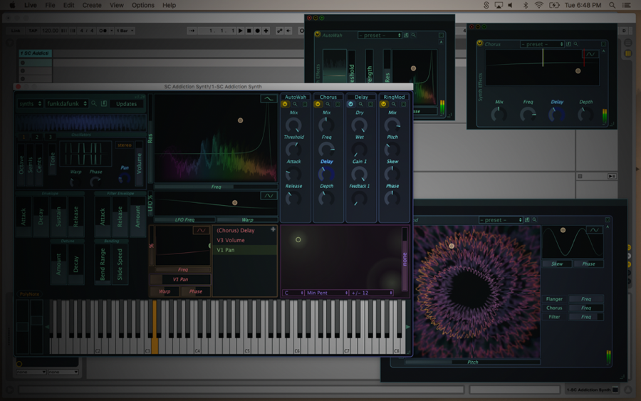 Kvr Addiction Synth By Stagecraft Software Subtractive