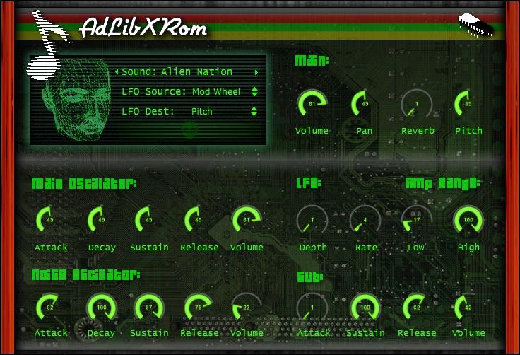 AdLibXRom