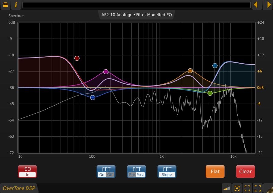 KVR: AF2-10 by OverTone DSP - Equalizer VST Plugin, Audio Units