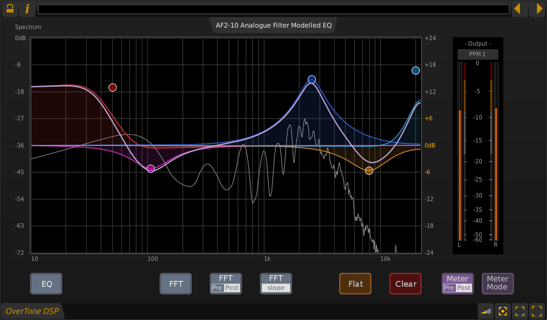 KVR: OverTone DSP announces new price for AF2-10 Graphical EQ plug-In