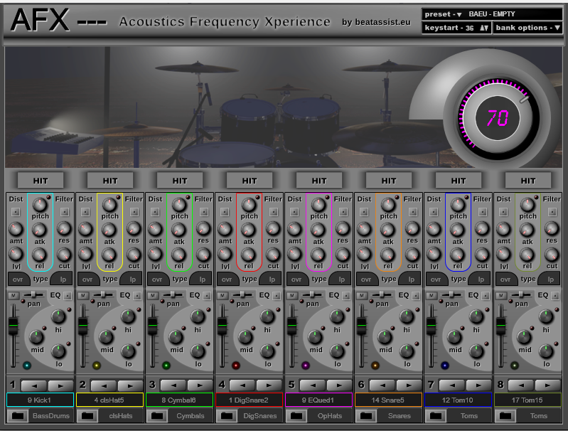 AFX (Acoustics Frequency Xperience)
