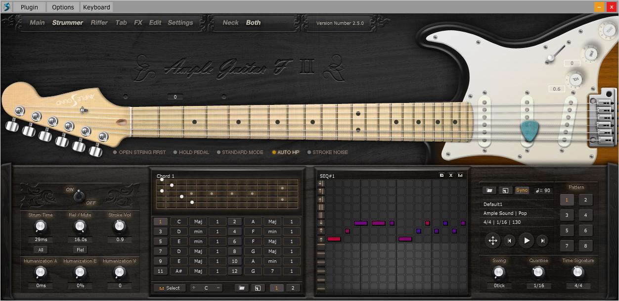 kvr agf ii by ample sound guitar vst plugin audio units plugin rtas plugin aax plugin and. Black Bedroom Furniture Sets. Home Design Ideas
