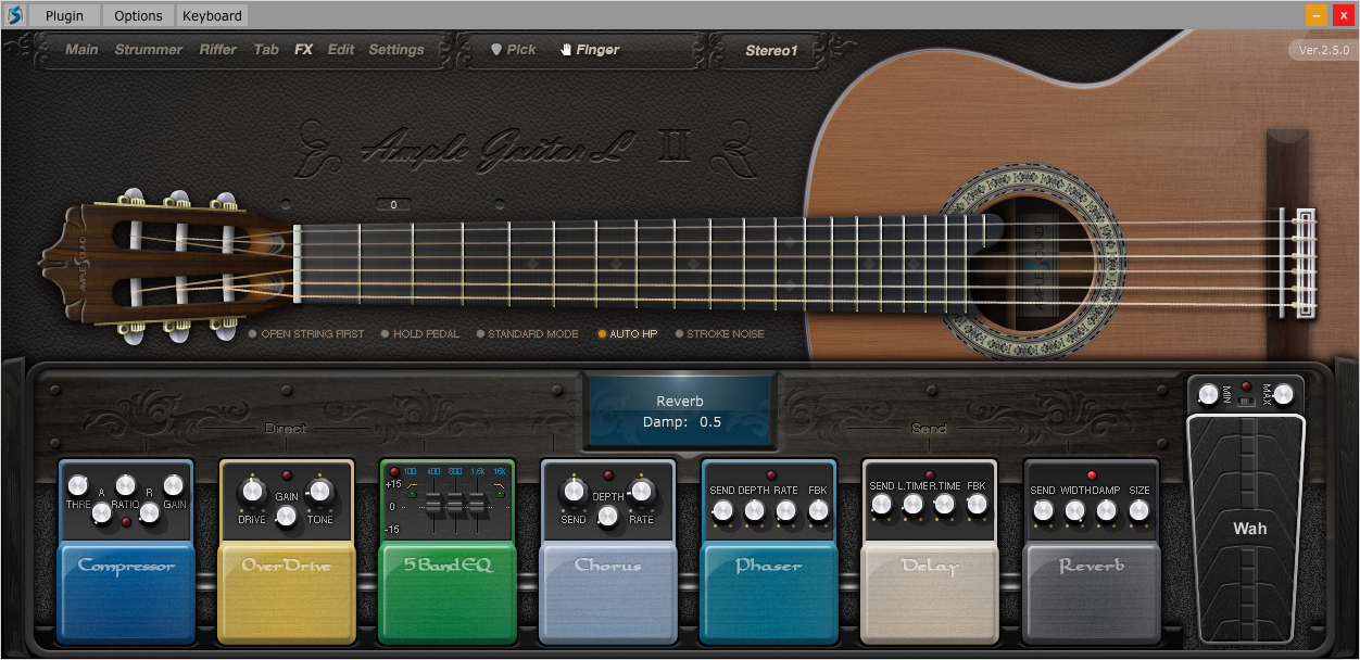 kvr agl ii by ample sound classic guitar vst plugin audio units plugin rtas plugin and aax. Black Bedroom Furniture Sets. Home Design Ideas