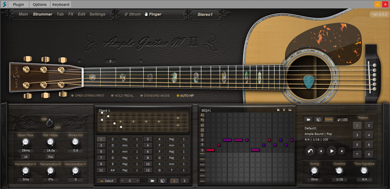 kvr ample sound releases ample guitar ii virtual guitars for mac win. Black Bedroom Furniture Sets. Home Design Ideas