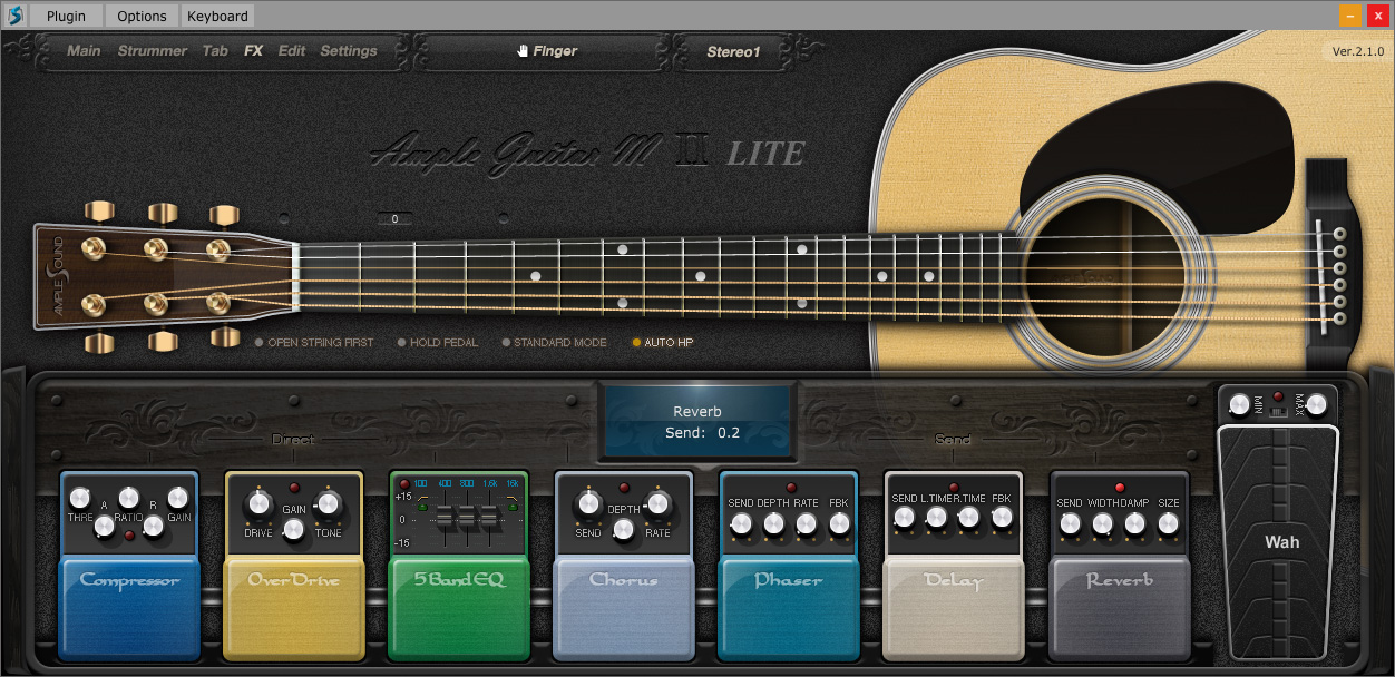Esp 7 String >> KVR: AGML II by Ample Sound - Acoustic Guitar VST Plugin ...