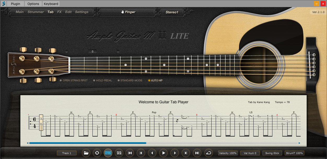 Kvr Agml Ii By Ample Sound Acoustic Guitar Vst Plugin Audio