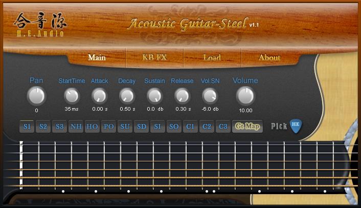 Acoustic Guitar Steel