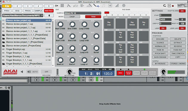 how to use mpc essentials