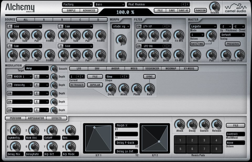 additive resynthesis vst Disco dsp's additive synth plug-in offers both high-quality resynthesis, with up to 256 partials per note, and a novel 'spectral display' for editing your sounds.