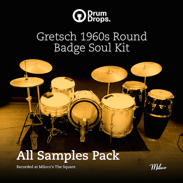 Gretsch 1960s Round Badge Soul Kit - All Samples Pack