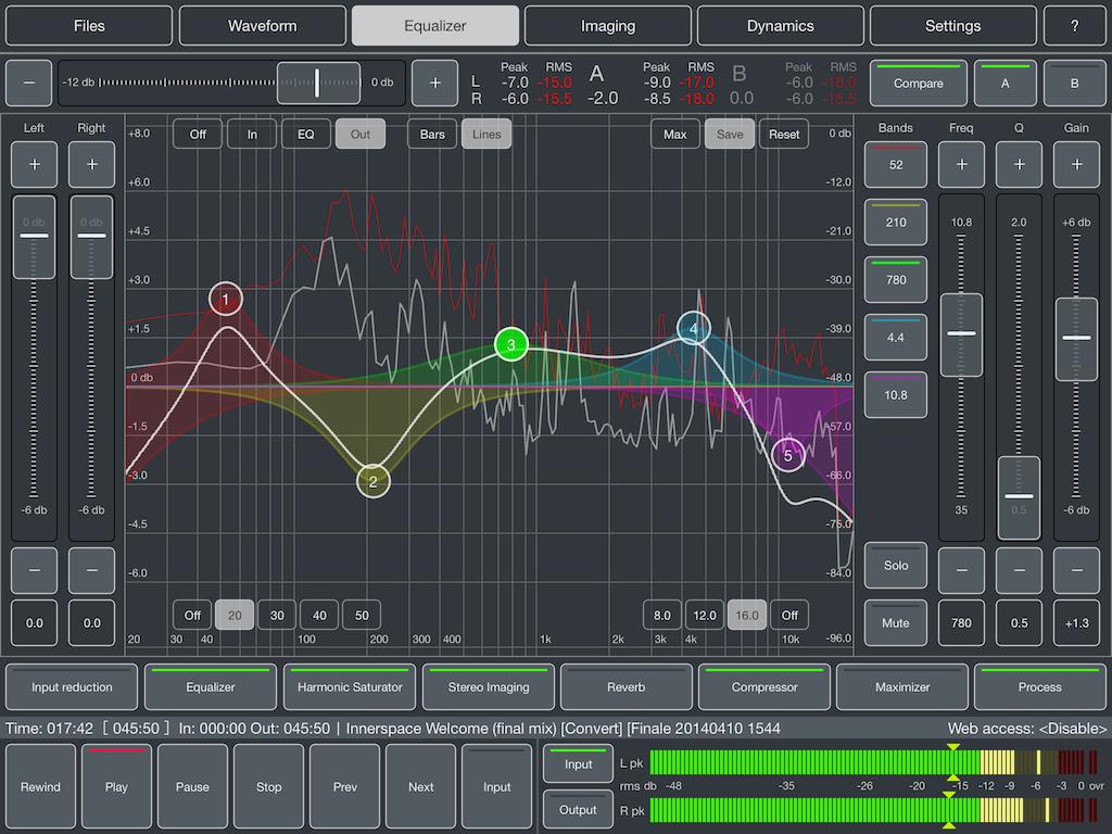 Kvr Audio Mastering For Ipad By Igor Vasiliev Mastering