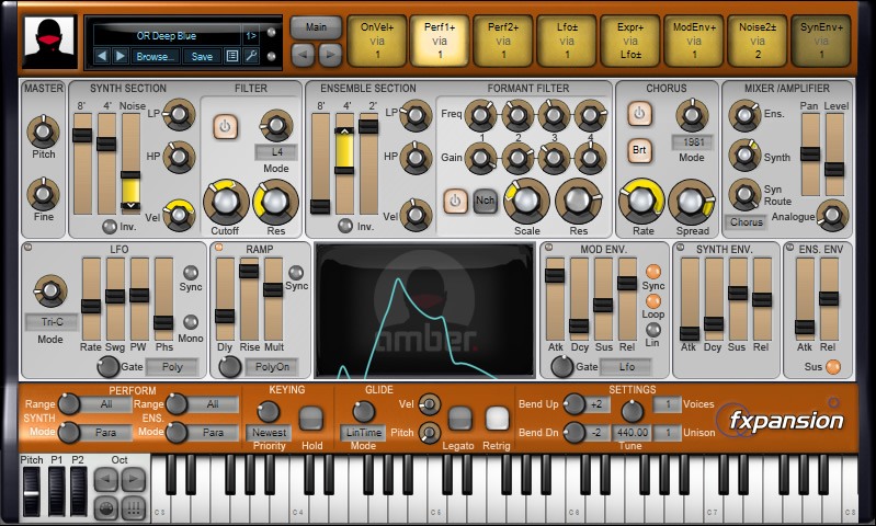 Amber (DCAM: Synth Squad)
