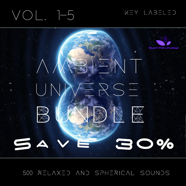 Ambient Universe Sample Pack Bundle Vol. 1-5