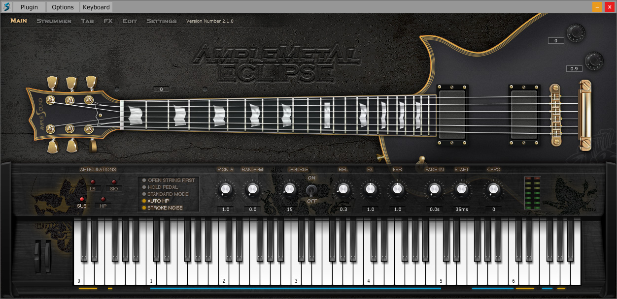 Kvr Ample Sound Releases Ample Metal Eclipse Virtual Electric Guitar