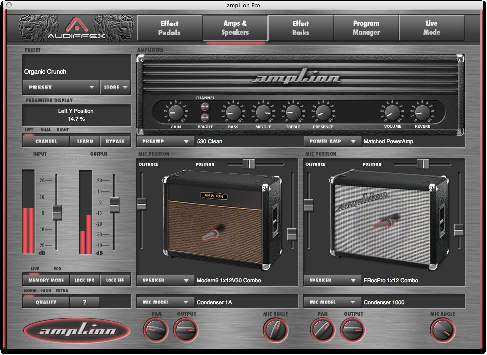 kvr audiffex releases amplion pro and amplion free guitar gear simulations. Black Bedroom Furniture Sets. Home Design Ideas