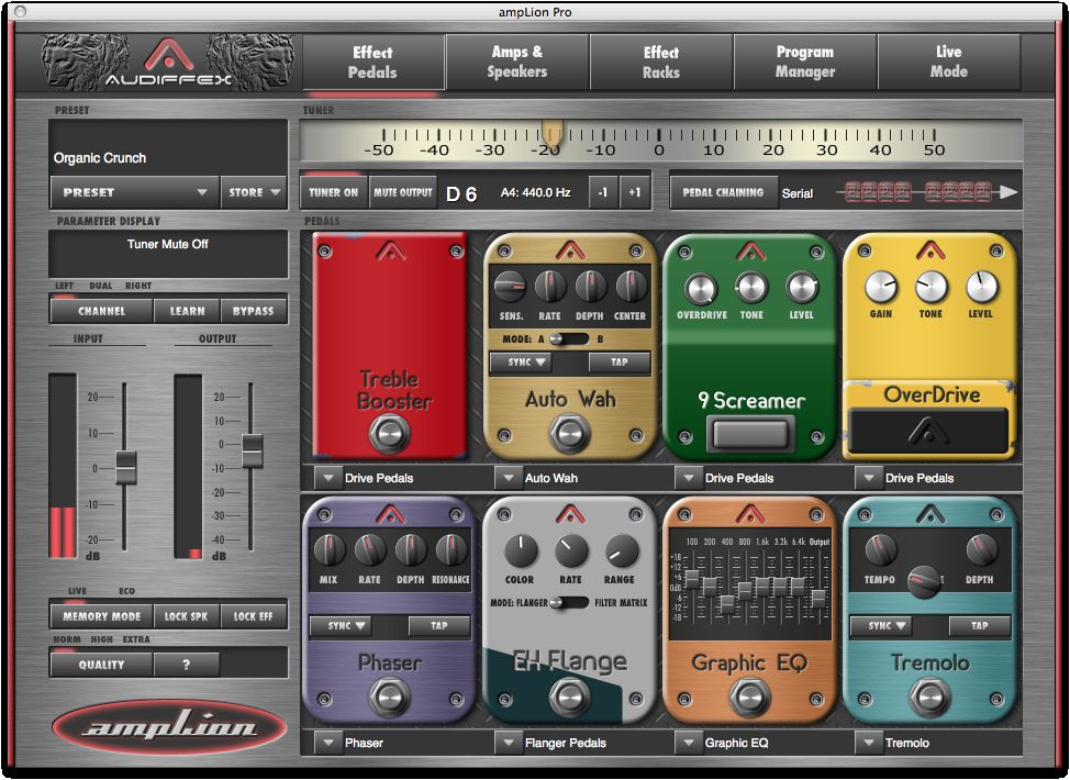 KVR: Audiffex releases ampLion Pro and ampLion Free - Guitar Gear