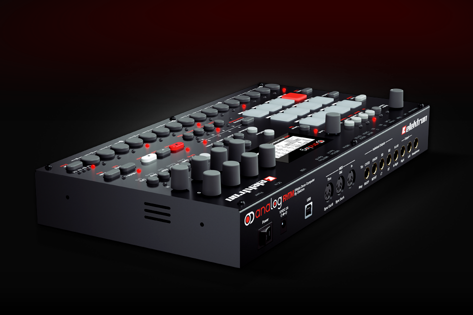 kvr elektron releases analog rytm hardware 8 voice analog drum machine with sample support. Black Bedroom Furniture Sets. Home Design Ideas