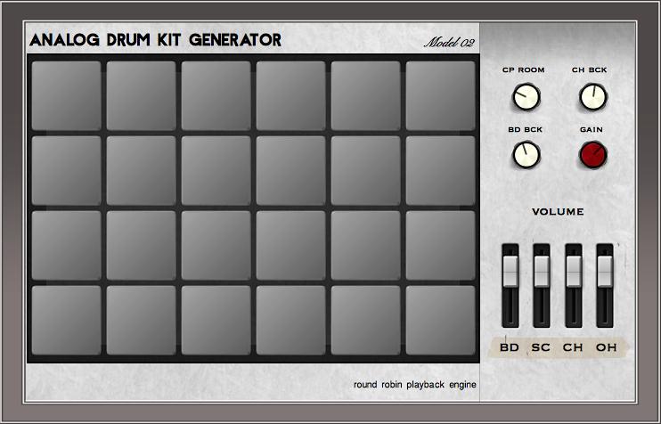 Analog Drum Kit M02