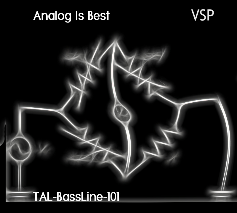 Analog Is Best for TAL-BassLine-101
