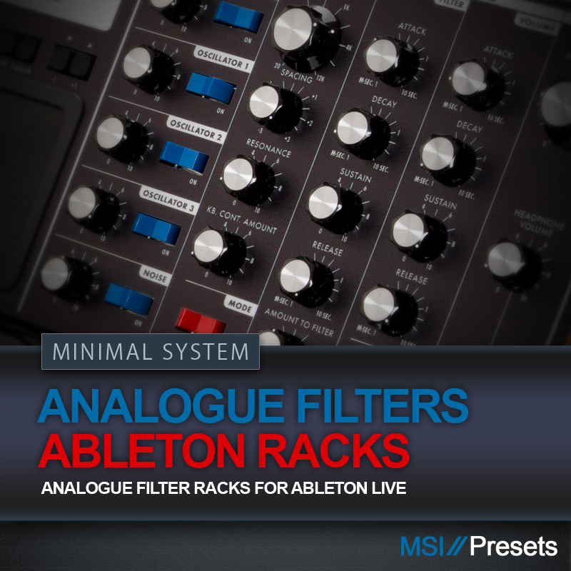Analogue Filters (Ableton Live Pack)