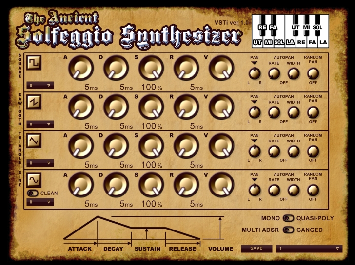 Kvr Ancient Solfeggio Synthesizer By Ulusulu Music