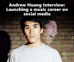 Andrew Huang Interview: Launching a music career on social media