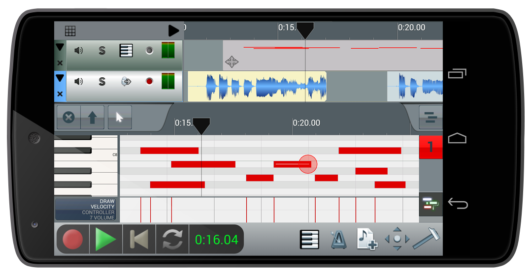 KVR: n-Track Studio for Android adds USB audio and MIDI