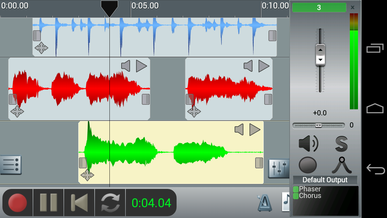 KVR: n-Track Studio for Android by n-Track Software - DAW
