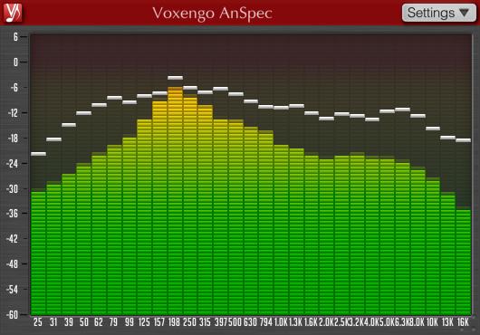 KVR: AnSpec by Voxengo - Spectrum Analyser VST Plugin, Audio