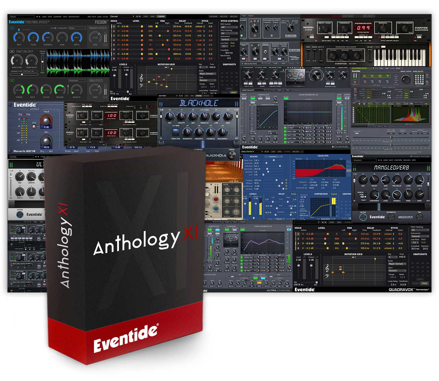 KVR: Buy Eventide Anthology XI at the KVR Marketplace (Multi FX)