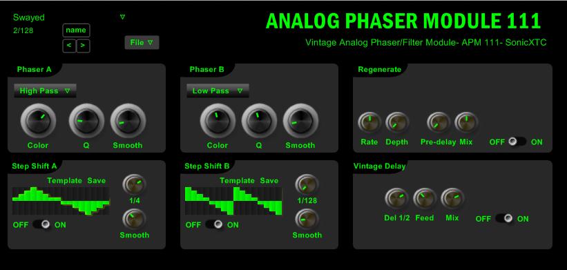 Analog Phaser Module Apm 111