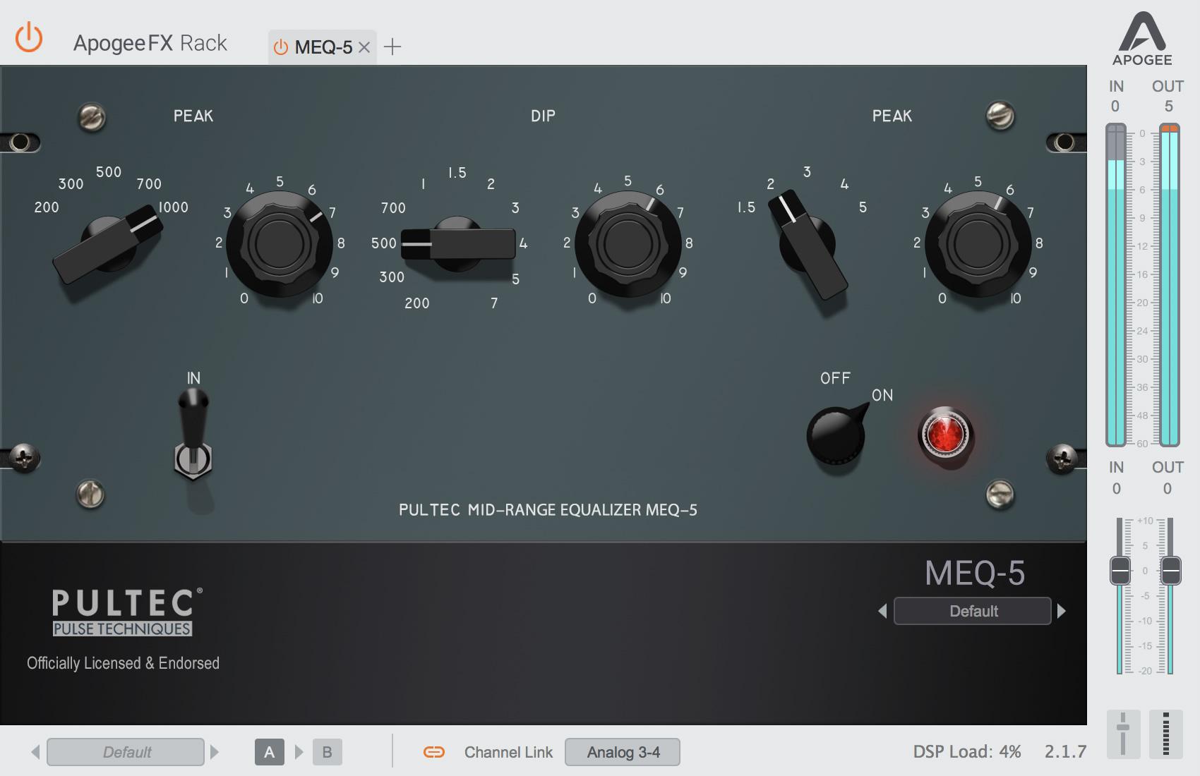 Pultec MEQ-5
