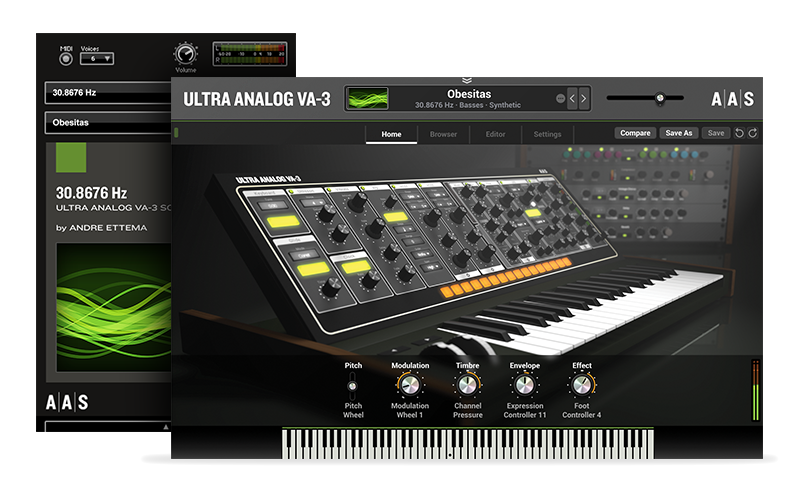 30.8676Hz - Ultra Analog VA-3